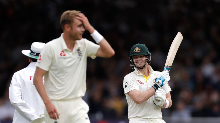 Smith scored twin tons at Edgbaston and 92 at Lord's