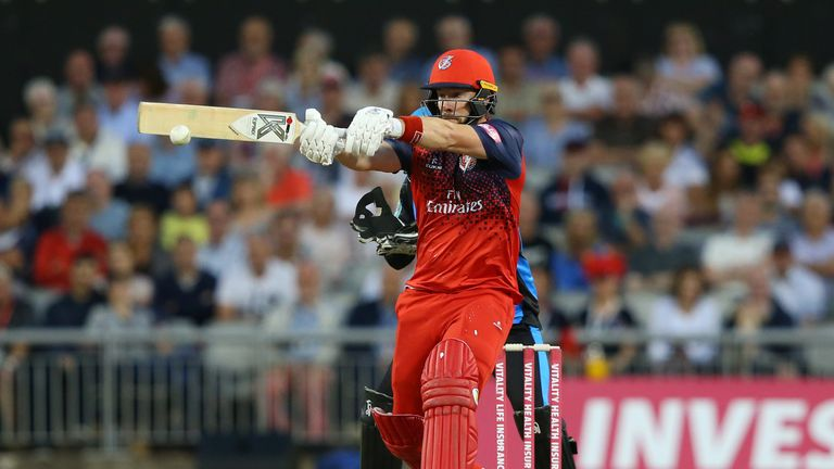 Lancashire secure home quarter-final in Vitality Blast with win over Worcestershire