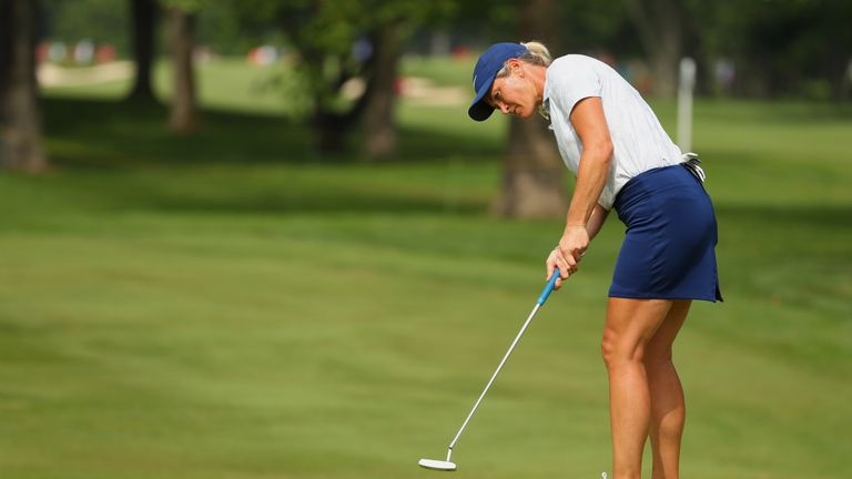 Suzann Pettersen is hoping to feature at the Solheim Cup
