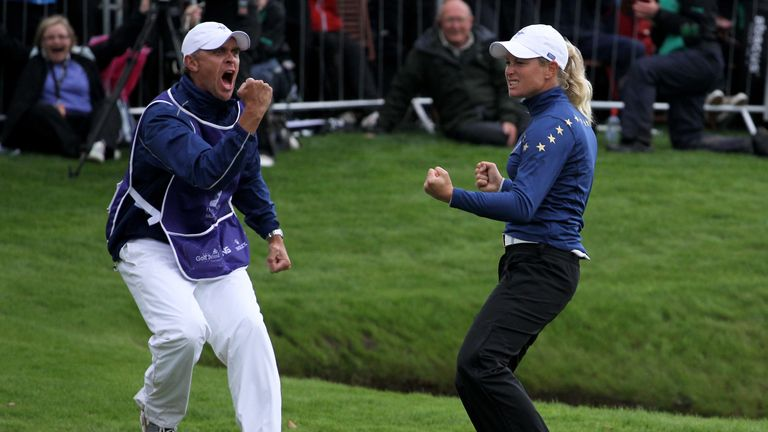 Pettersen's points motivated Europe to victory in Ireland