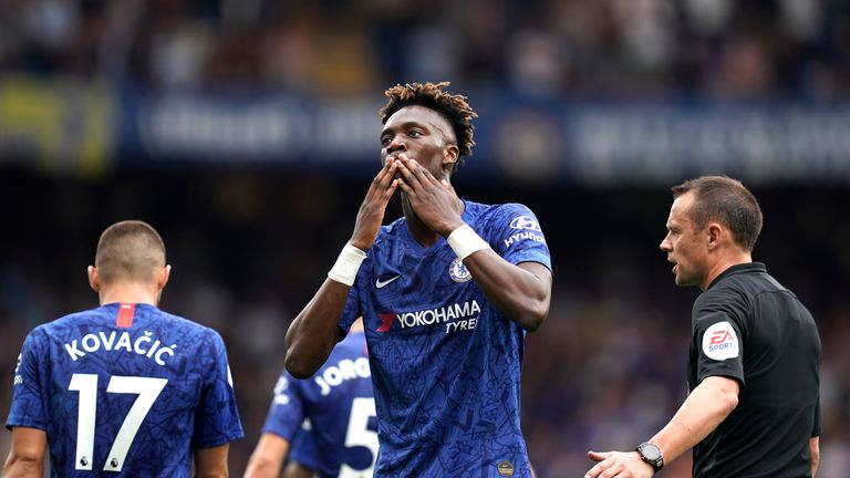 Abraham has gone on to score four times for Chelsea in the Premier League