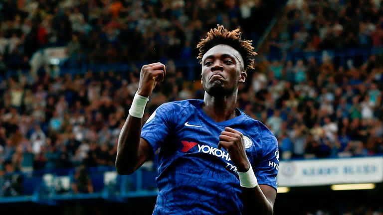 Tammy Abraham has made an impressive start for Frank Lampard's side