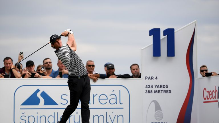 Czech Masters: Thomas Pieters opens up one-shot lead in Prague