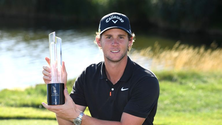Thomas Pieters enjoyed victory at the Czech Masters in 2019