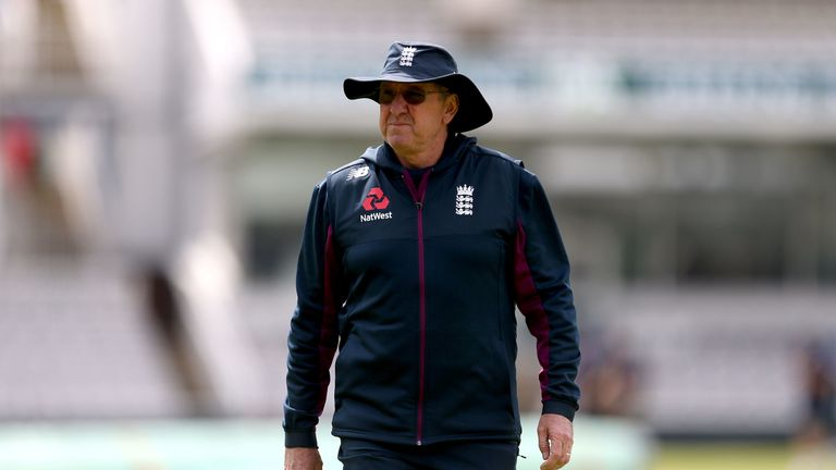 Trevor Bayliss has stood down as England head coach