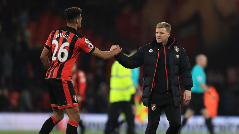 Tyrone Mings signed for Bournemouth in the summer of 2015