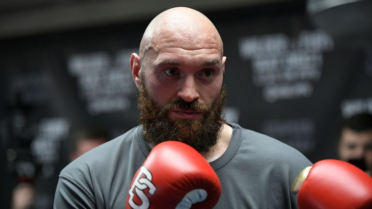 Tyson Fury's next fight will be against Otto Wallin