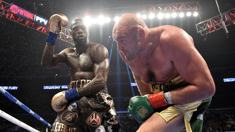 Wilder and Fury plan a 2020 rematch
