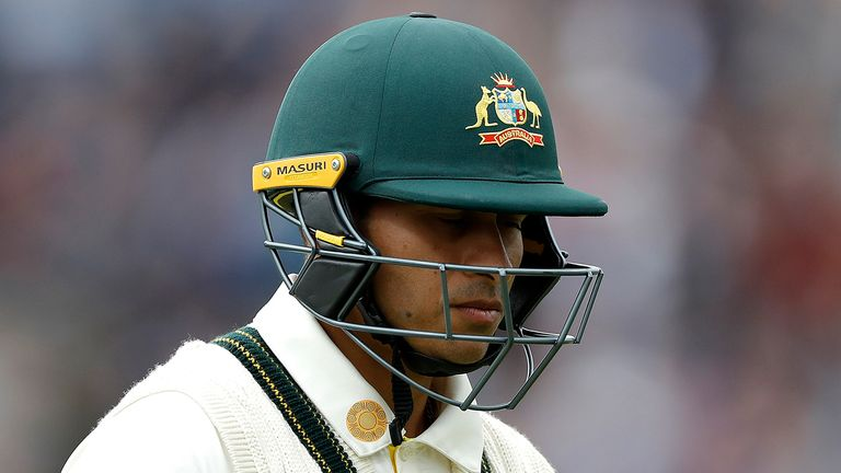Usman Khawaja has not played for Australia's Test team since being dropped after the third Test against England last year
