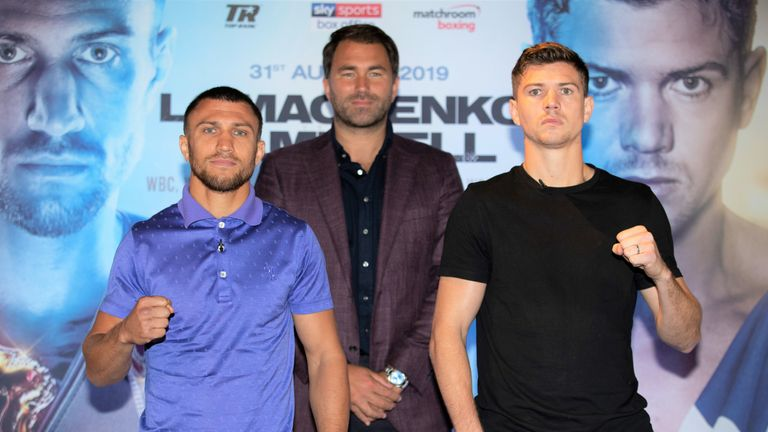 Lomachenko faces Campbell  on Saturday August 31