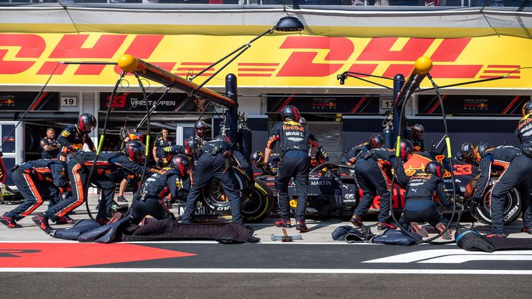 Verstappen pits on Sunday but Hamilton secured his seventh Hungarian GP win