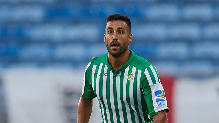 Camarasa joined Real Betis in 2017