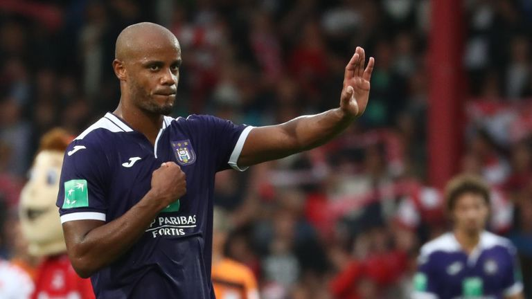 Vincent Kompany has picked up just two points from his first five games as player-manager