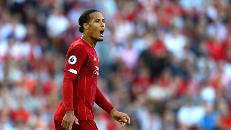 Virgil van Dijk transformed Liverpool's defence since his move from Southampton