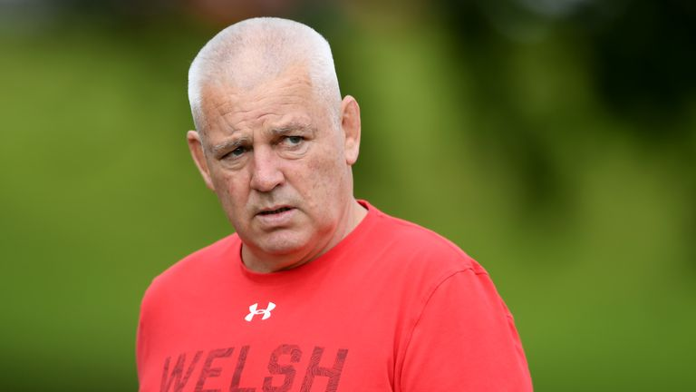 Warren Gatland wants Wales to finish top of their World Cup group