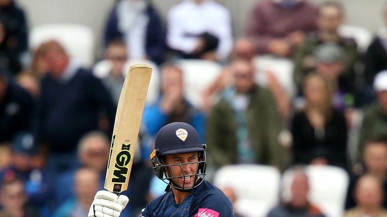 Wayne Madsen has scored 447 runs for Derbyshire in the Blast this season
