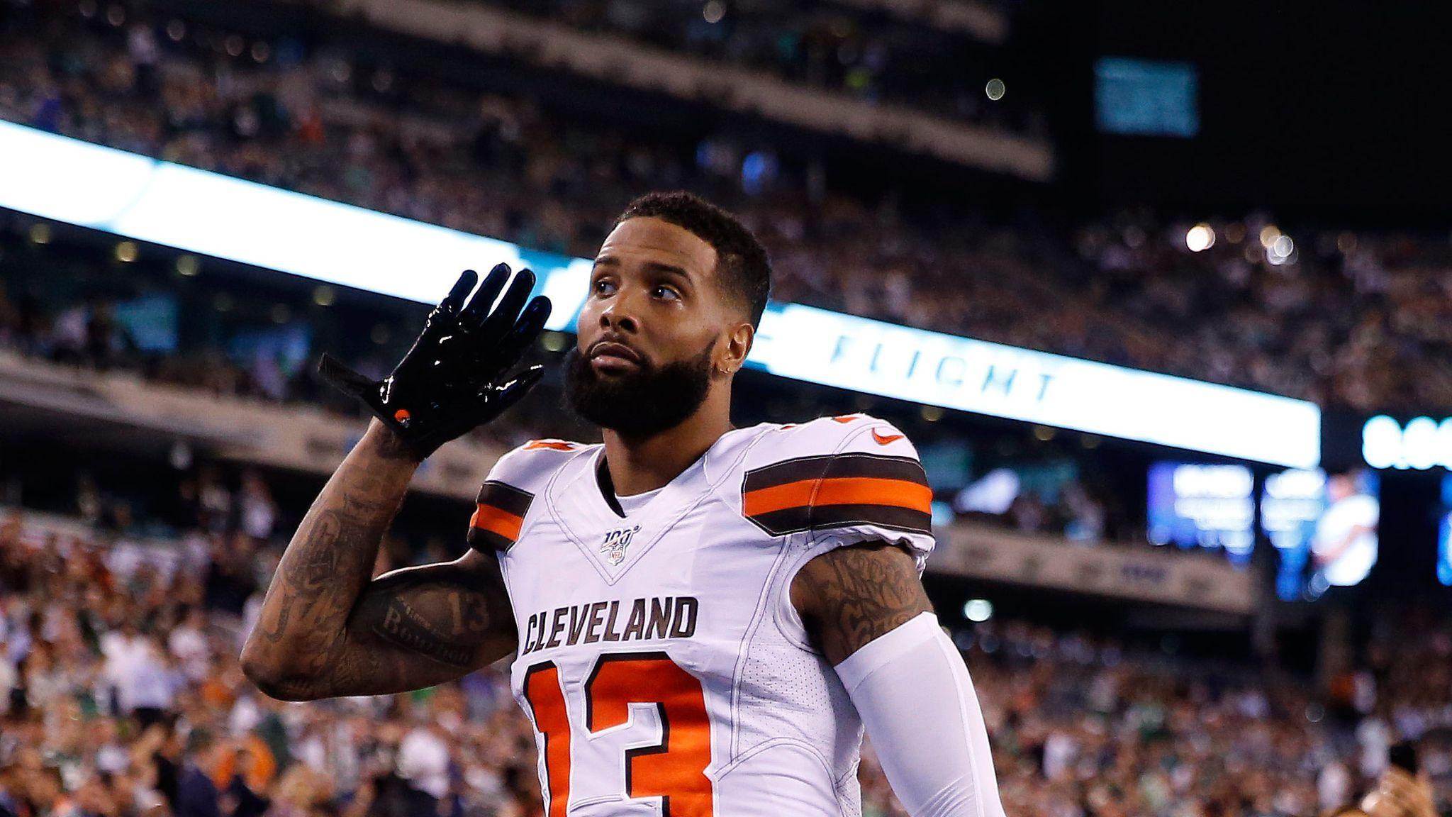 Odell Beckham Jr Cleveland Browns Wide Receiver Arrest Warrant In
