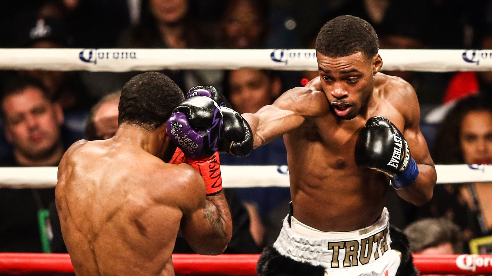 Errol Spence Jr seriously injured in car crash in Dallas