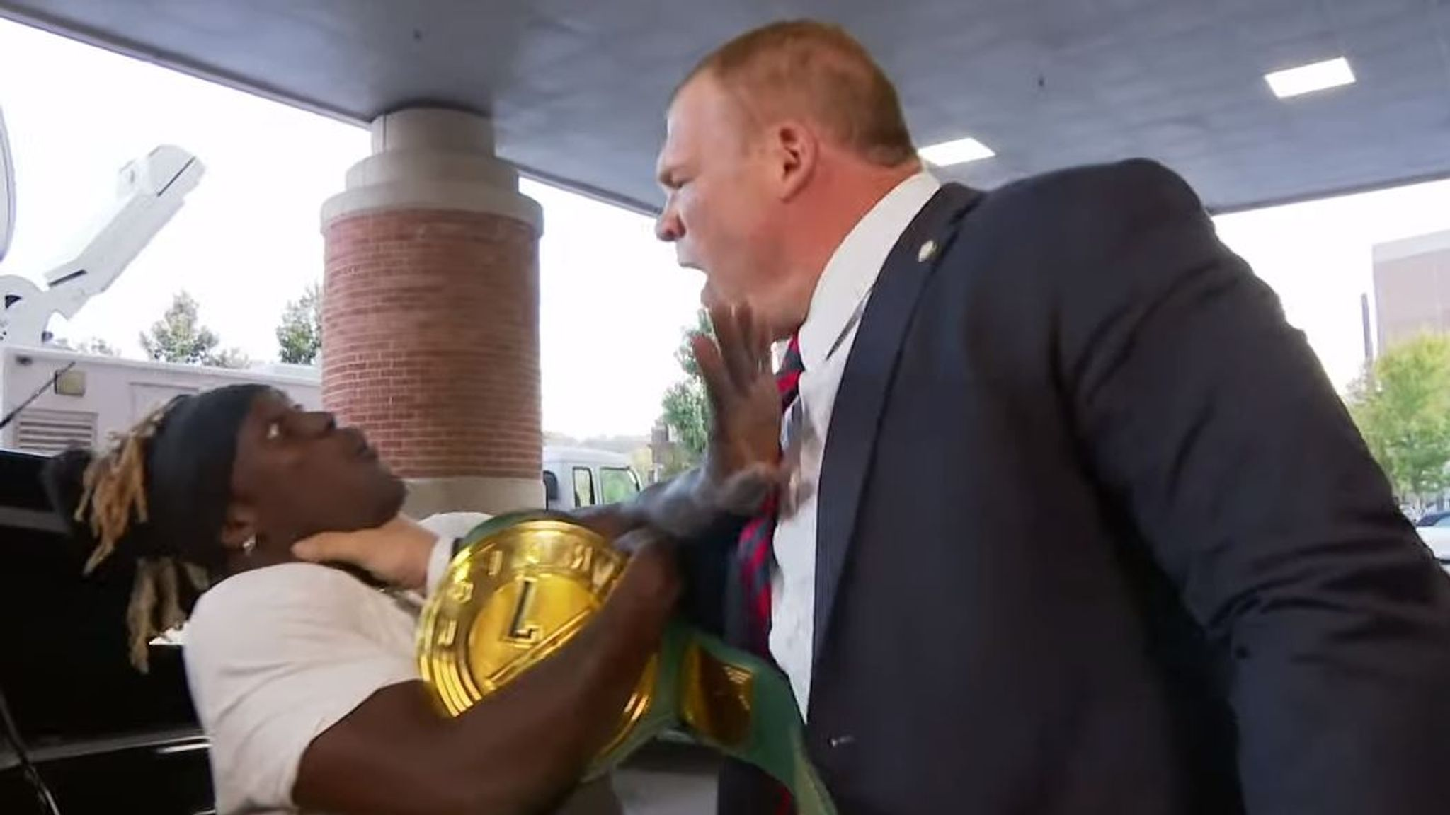 Kane wins WWE 24/7 title - but loses it back to 16-time champion R ...