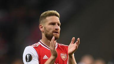 fifa live scores - Shkodran Mustafi hits back at 'irrational' Arsenal fan criticism
