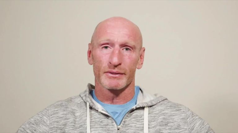 Gareth Thomas says he was forced to reveal his HIV status by 'evils that make his life hell'.