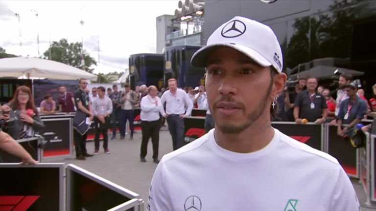 Hamilton believes the new generation 'get away with a lot more' after Leclerc was not penalised for dangerous driving