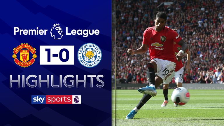 FREE TO WATCH: Highlights from Manchester United's 1-0 win over Leicester City.