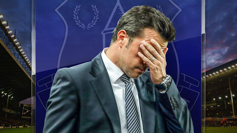 Marco Silva faces a crucial game against Manchester City on Saturday