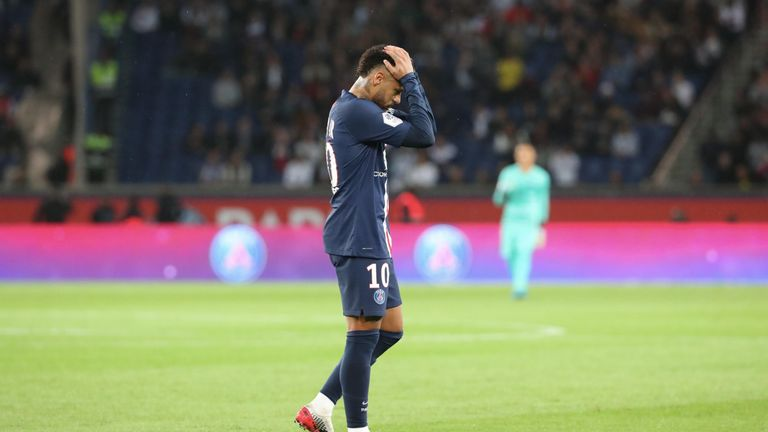 Neymar: Paris Saint-Germain forward out for four weeks