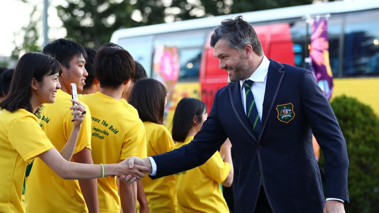 Shake hands in Japan like Adam Ashley Cooper by all means - but only if the hand is offered. A bow is the more usual welcome