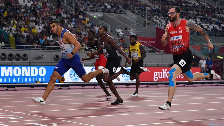 Gemili clocked 20.03 seconds to win the opening men's 200m semi