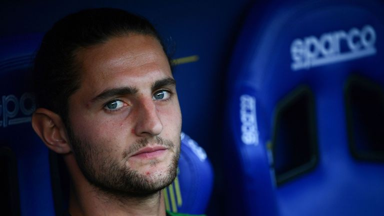 Adrien Rabiot is reportedly unhappy at Juventus