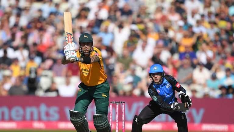 Hales recently extended his  limited-overs only contract with Nottinghamshire