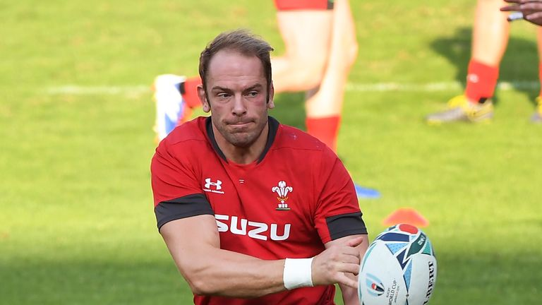Alun-Wyn Jones is on the verge of becoming Wales' most capped player