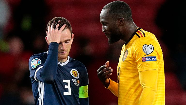 Scott McTominay, Andrew Robertson and Ryan Fraser leave Scotland squad