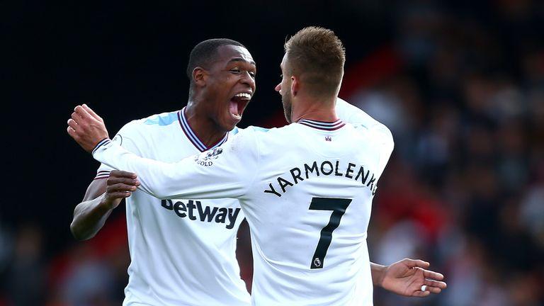 Andriy Yarmolenko impressed against for West Ham