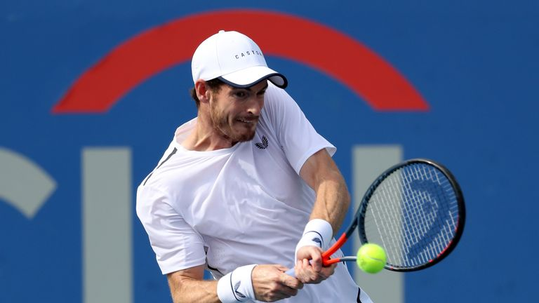 Murray's win over Sandgren was his first individual win on the ATP Tour since January