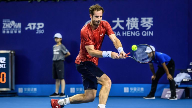Murray recorded promising wins over Berrettini and Norrie on his way to the quarter-finals in Beijing