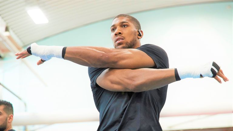 The 30-year-old usually bases his training camp in Sheffield