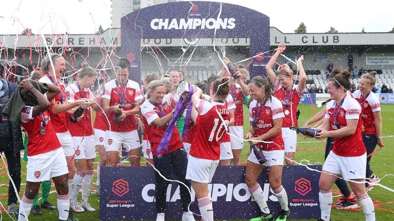 Champions Arsenal are favourites again for the WSL crown