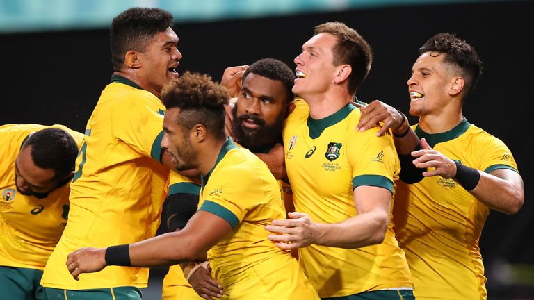 The Wallabies turned things around to beat Fiji in Rugby World Cup Pool D