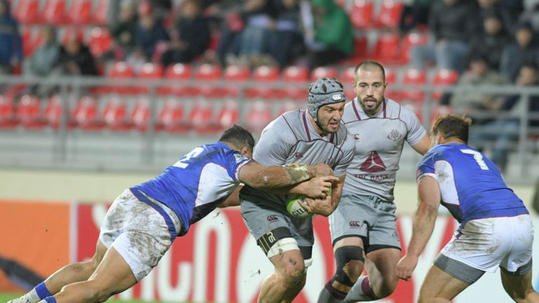 Beka Gorgadze's ability has been hailed by his forwards coach pre-tournament