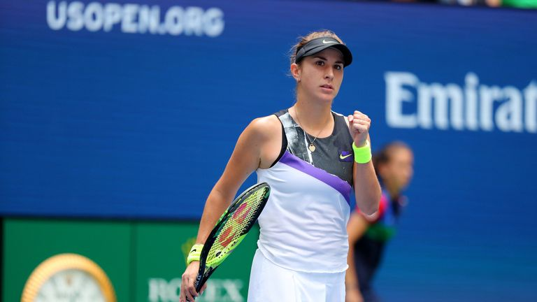 Bencic bounds into first-ever Grand Slam semi-final
