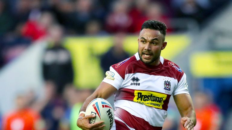 Wigan Warriors 46-12 Catalans Dragons: Bevan French hat-trick sees Warriors win