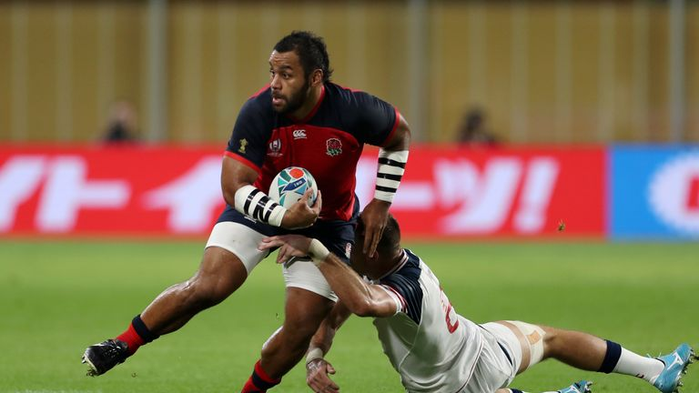 England make 10 changes for Rugby World Cup clash against USA