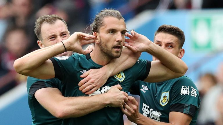 Jay Rodriguez to Inter Milan reports odd, says Sean Dyche