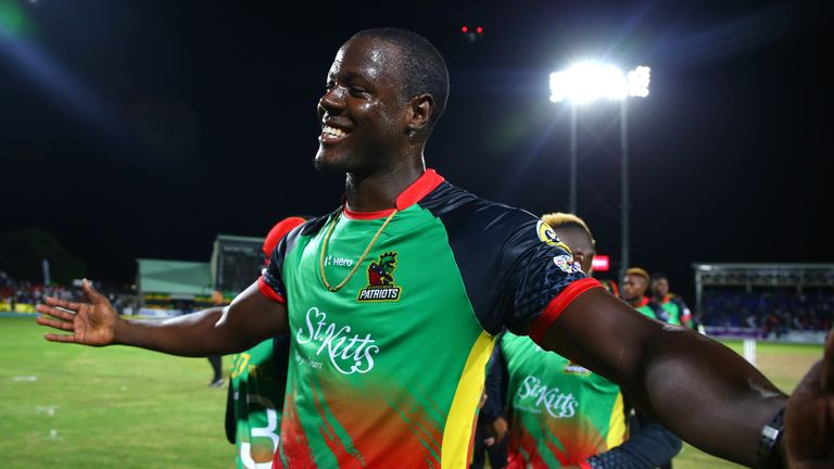 St Kitts and Nevis Patriots vs Trinbago Knight Riders | Sky Sports Live Cricket