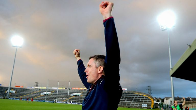Cathal Murrary celebrates the semi-final win over reigning champions Cork