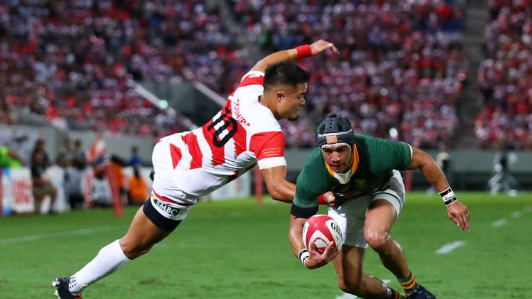 South Africa completed their Rugby World Cup preparations with a 41-7 victory over Japan