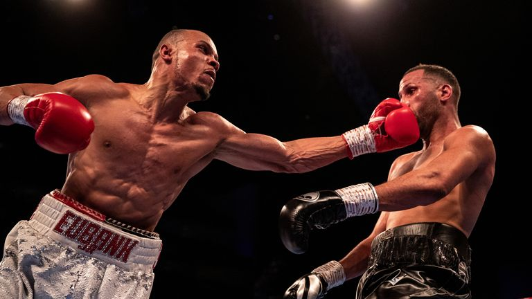 Eubank Jr outpointed DeGale in a grudge match in February